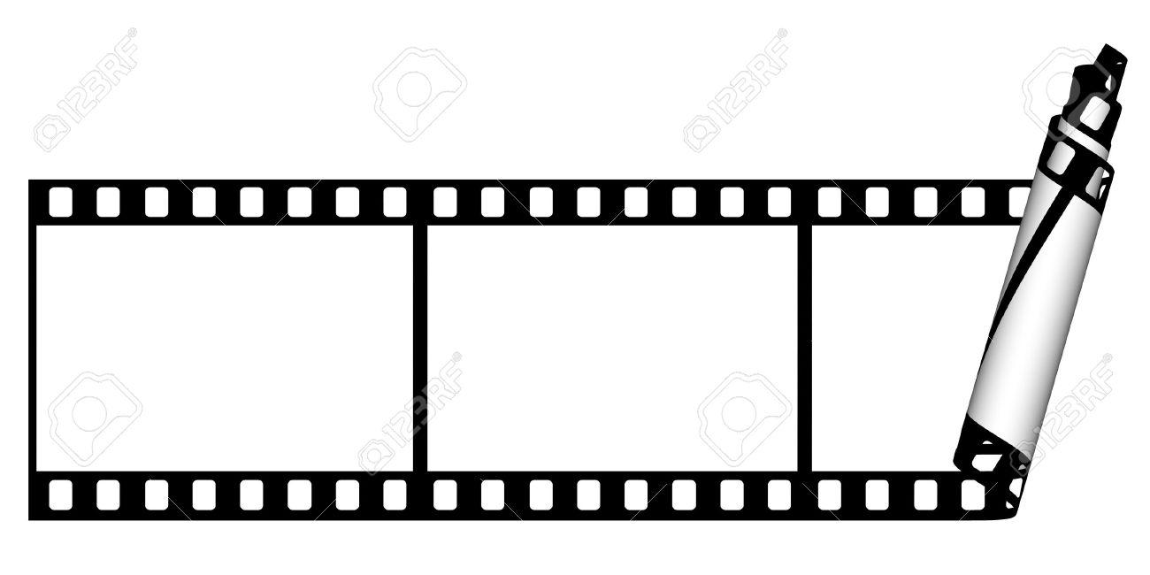 1300x650 Film Strip Background Stock