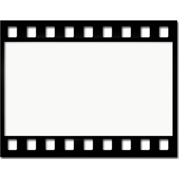 600x600 Film Strip Wallpaper Border