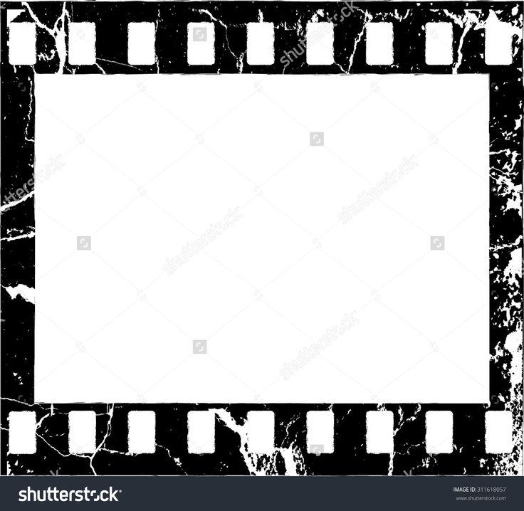 736x718 Grunge Filmstrip Border Frame Photo Frame With Overlay Film