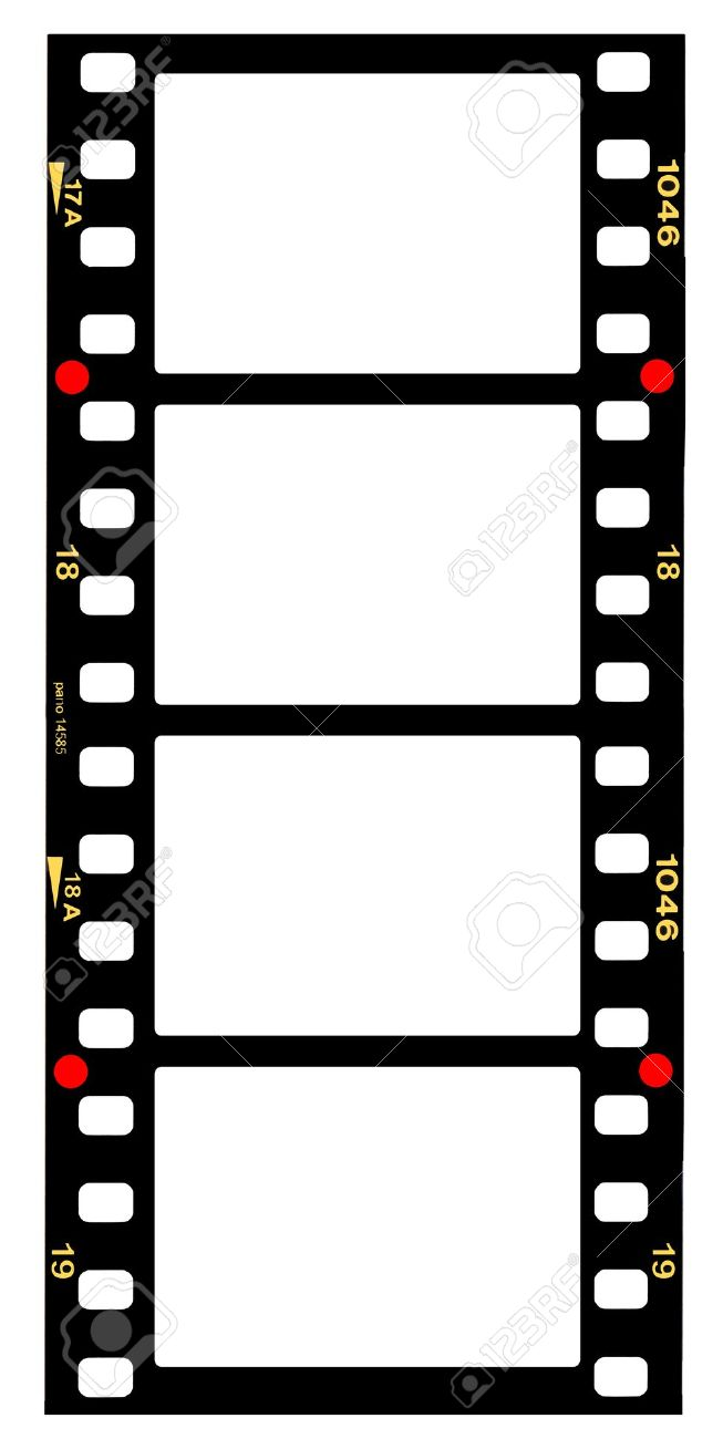 653x1300 Motion Picture Film Format Clipart