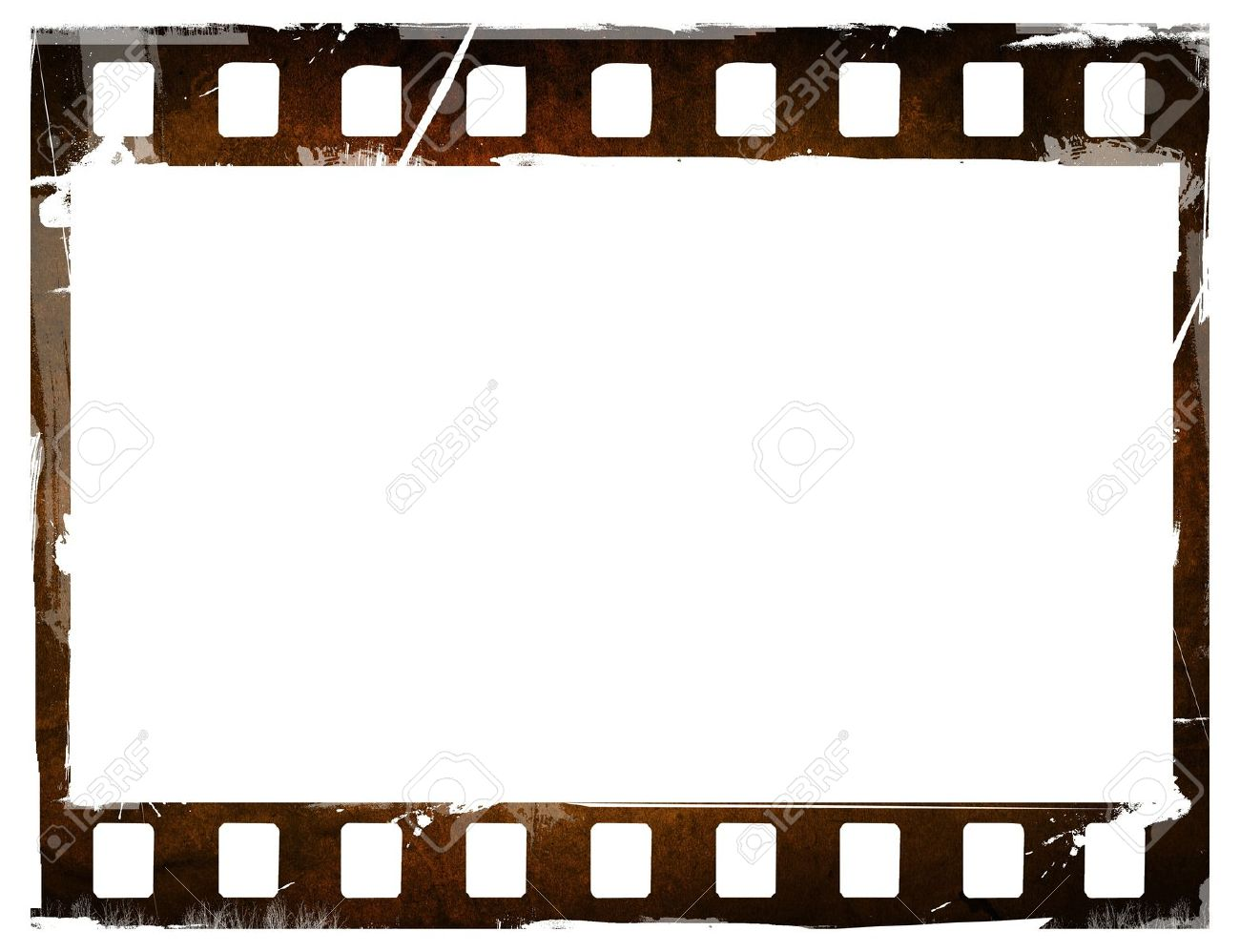 1300x998 Old Blank Film Strip Frame Background Stock Photo 37841605