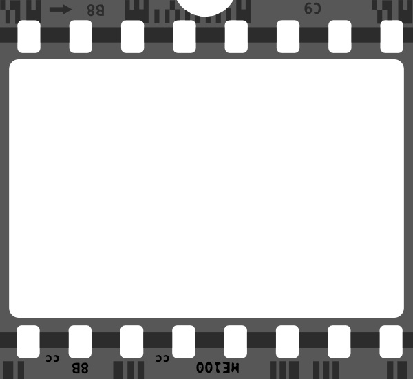 600x550 Film Strip Clip Art Free Vector In Open Office Drawing Svg ( Svg