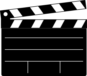 300x262 Hollywood Film Clipart