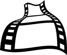 236x194 Movie Film Strip Clip Art Scrapbook Clipart Clip