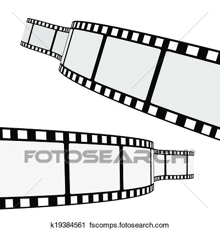 450x470 Clipart Of Cinema Film Strip K19384561