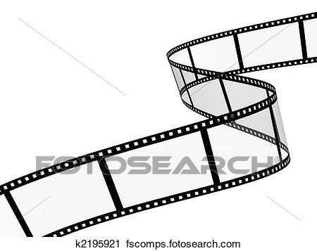 450x357 Clipart Of Filmstrip K2195921