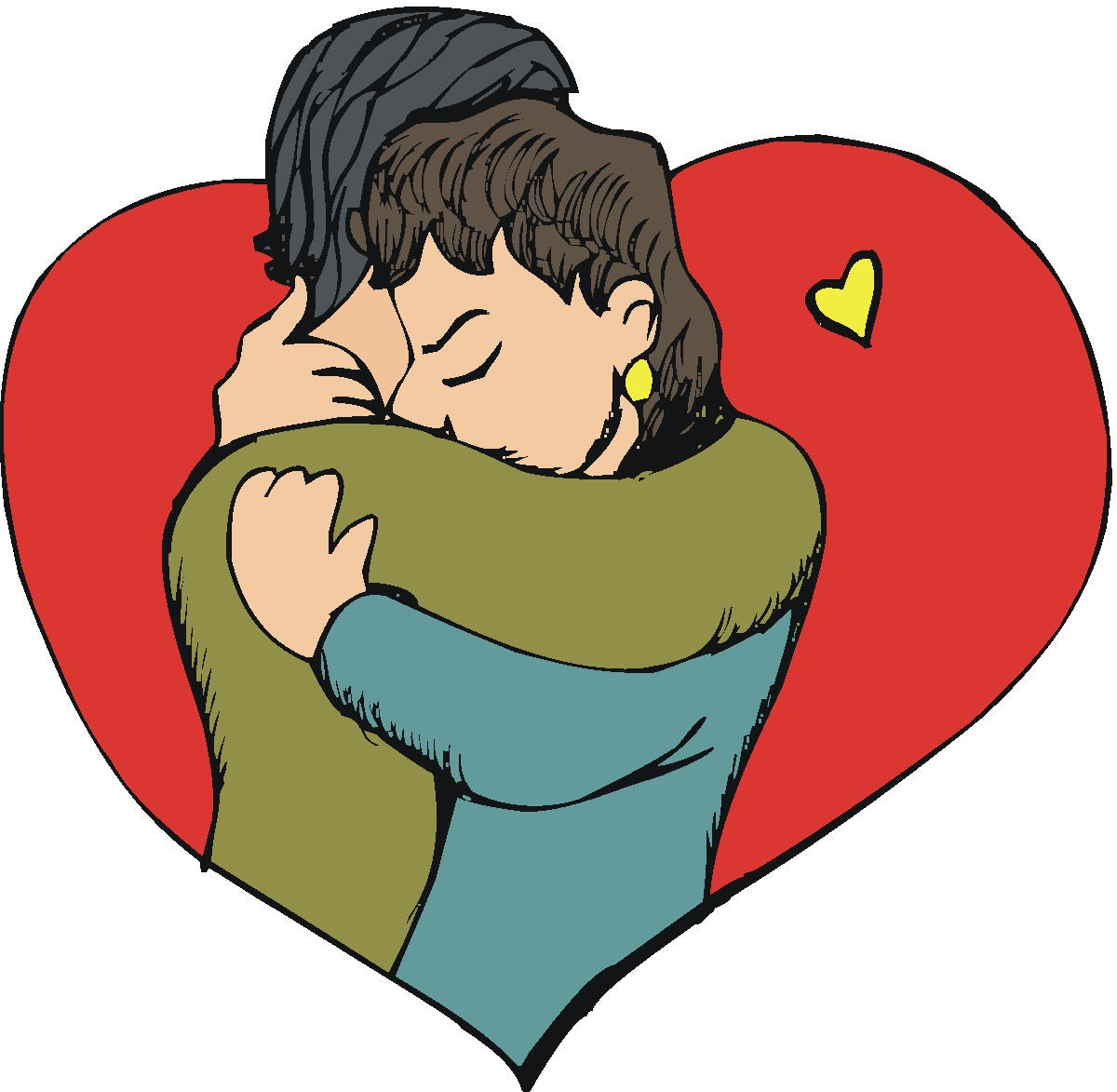 1200x1173 Image Of Hugs Clipart