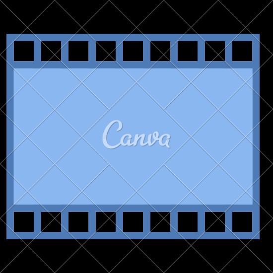 550x550 Film Strip Icon