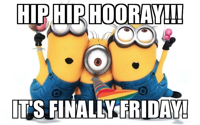 768x480 Hip Hip Hooray!!! It's Finally Friday!