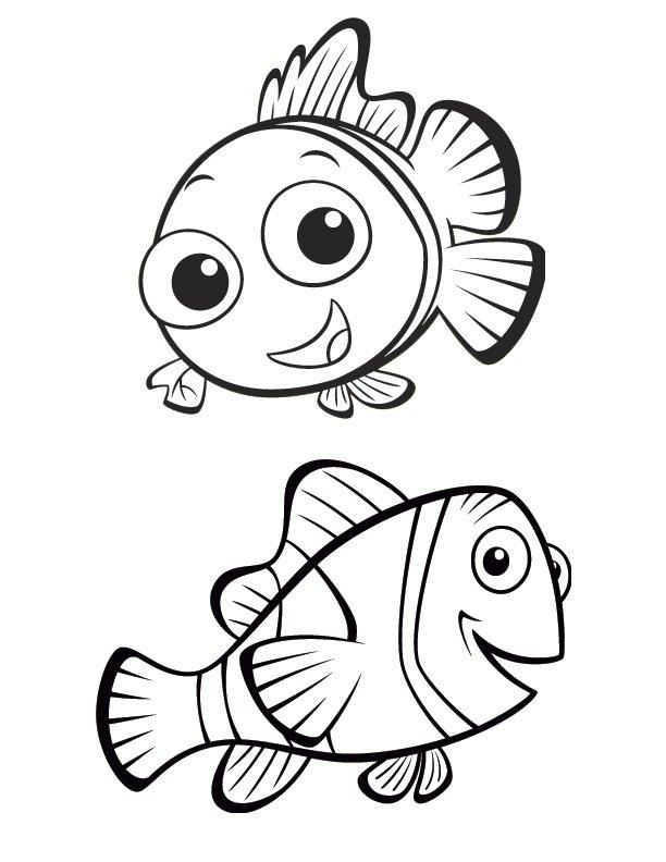 612x792 Finding Nemo Clip Art Clipart Panda