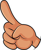 140x170 Middle Finger Clip Art