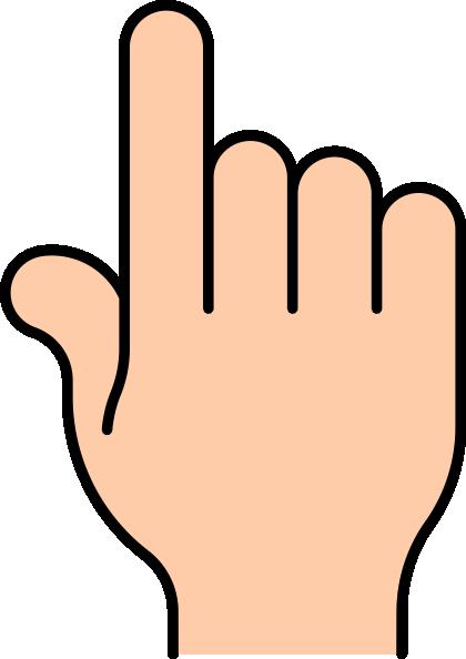 420x594 Pointer Finger Clip Art