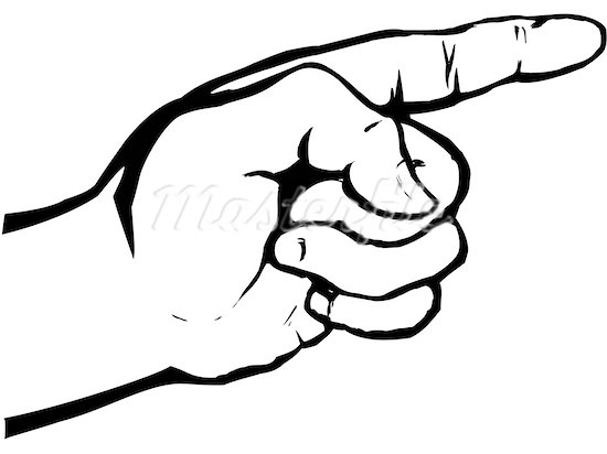 550x412 Pointing Finger Pointing Hand Clip Art