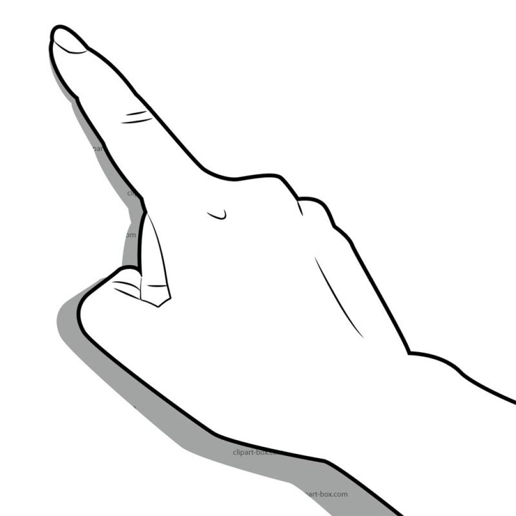 1024x1024 Clipart Finger Clipart Finger Clip Art Middle Finger Clipartsco