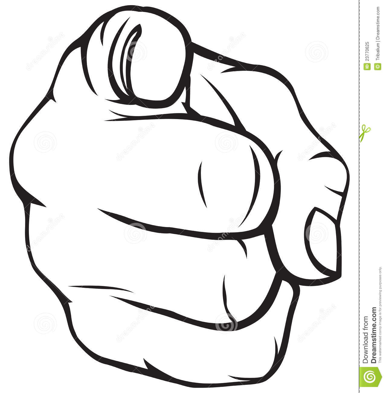 1278x1300 Hand Pointing Clipart