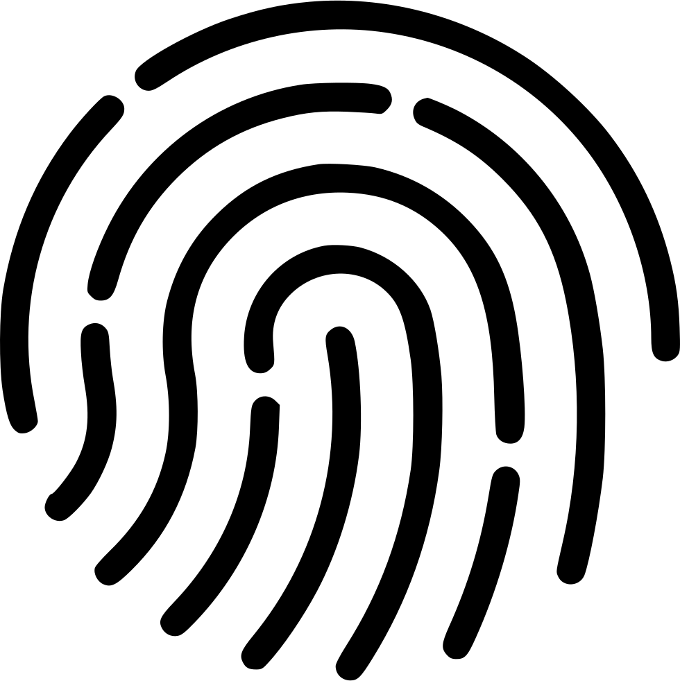 980x982 Touch Id Fingerprint Access Svg Png Icon Free Download ( 477059