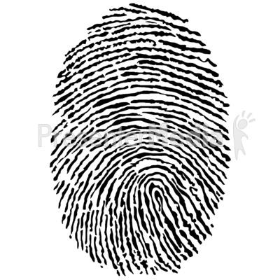 400x400 Clipart Fingerprints