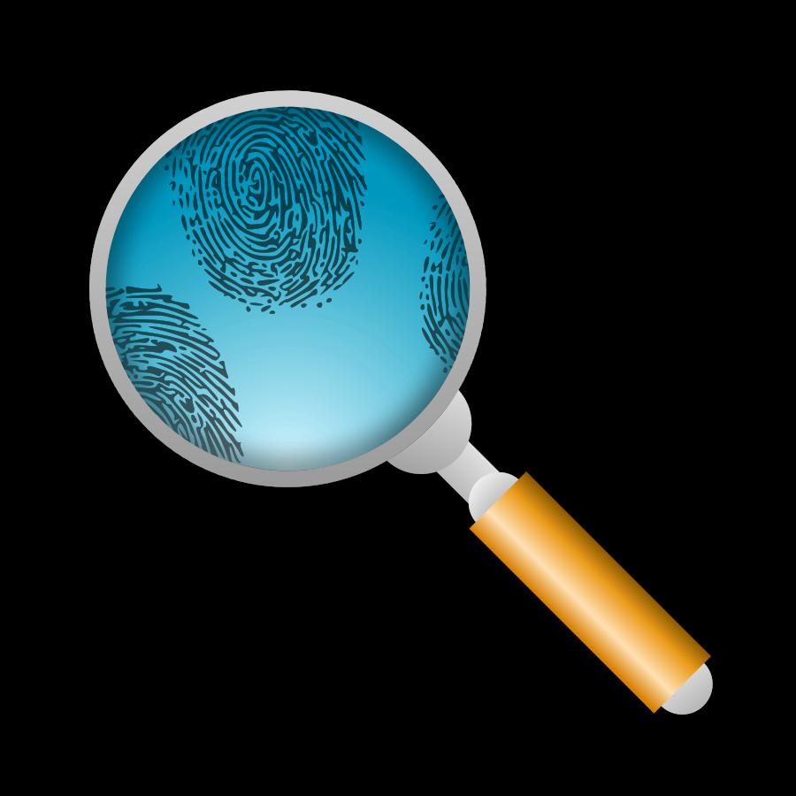 900x900 Fingerprints Clipart