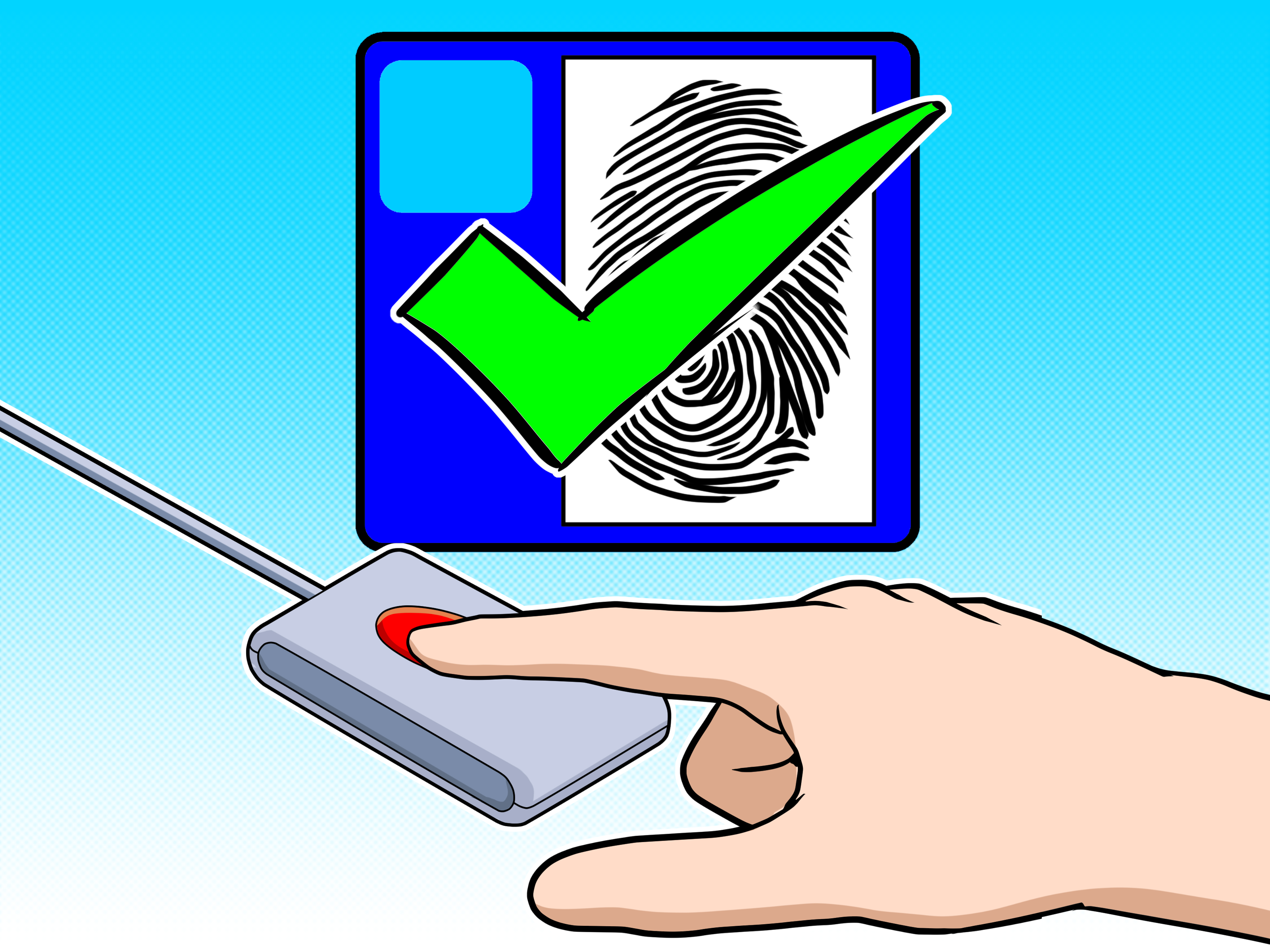 3200x2400 How To Install A Fingerprint Reader 9 Steps (With Pictures)