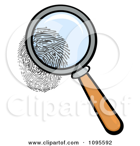 450x470 Magnifying Glass Fingerprint Clipart, Free Magnifying Glass