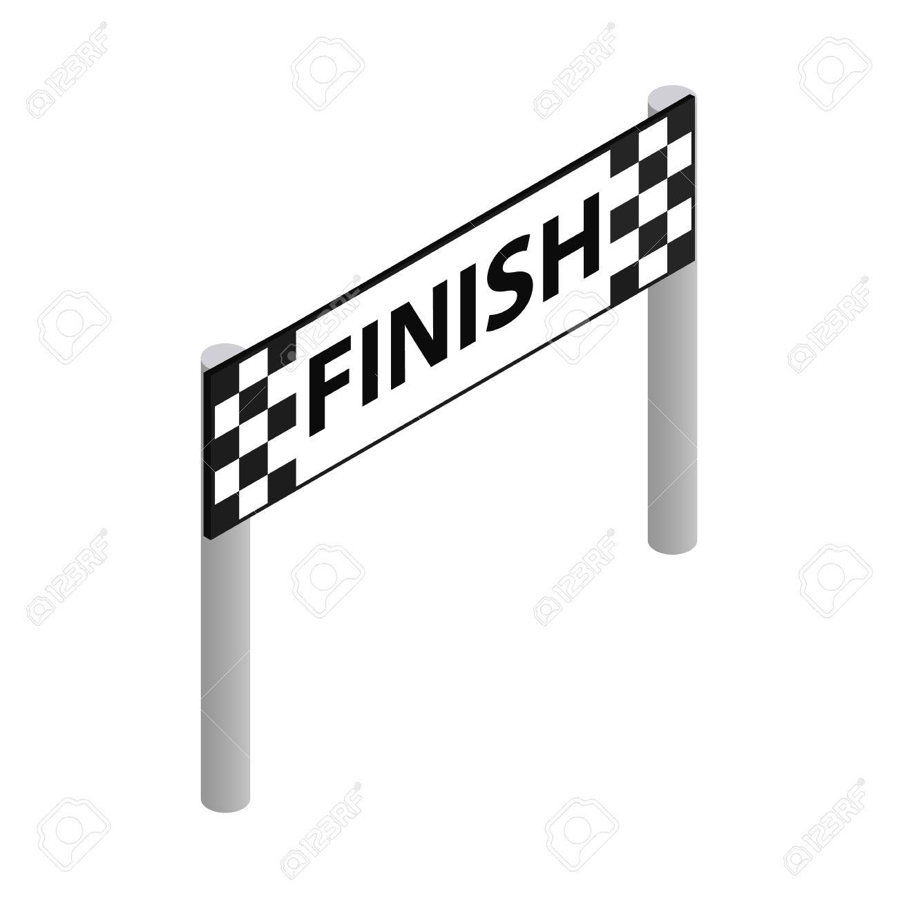 Finish Line Clipart