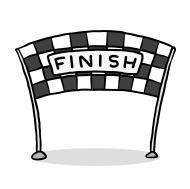 190x189 Finish Line Clipart
