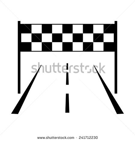 450x470 Racing Clipart Finish Line