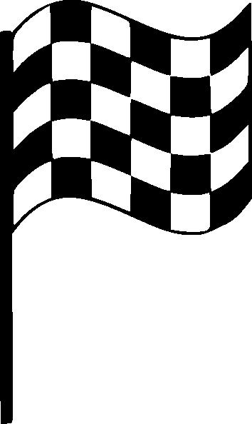 354x594 Upright Finish Line Flag Clip Art