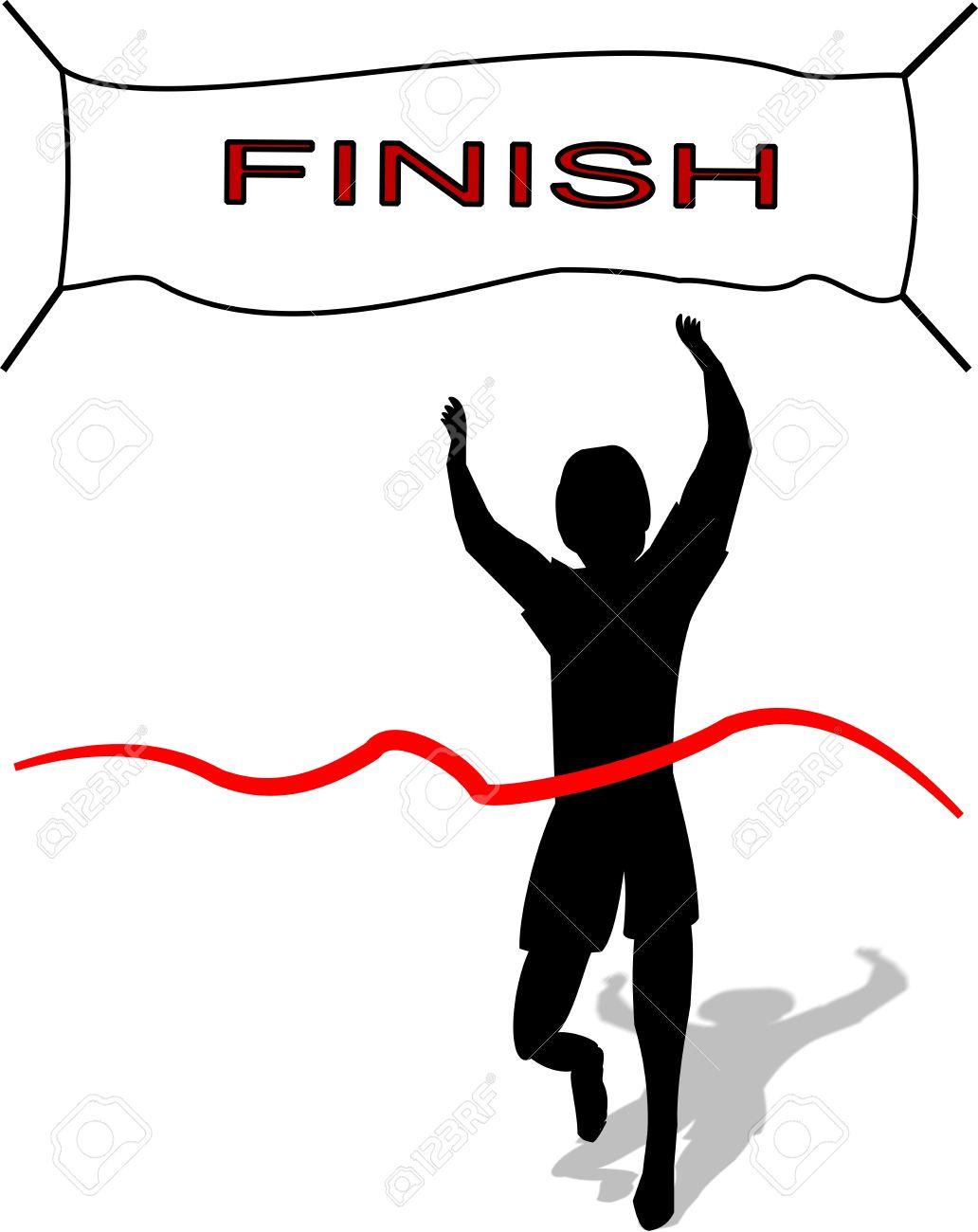 1032x1300 Winning Clipart Finish Line