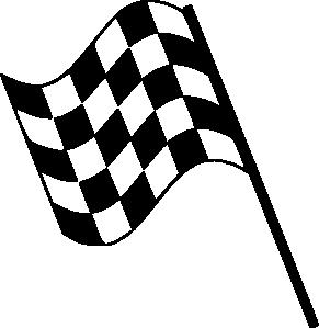 291x299 Checkerboard Clipart Finish Line