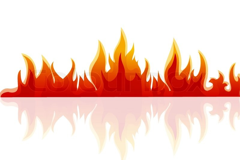 800x533 Fire Border Clip Art