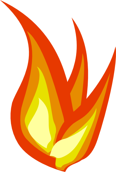 402x597 Fire Flame Clipart Border Free Images