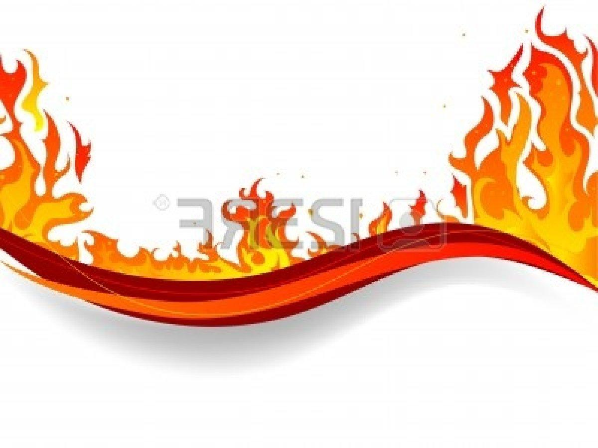 1200x900 Hd Fire Border With White Background And Flames Library