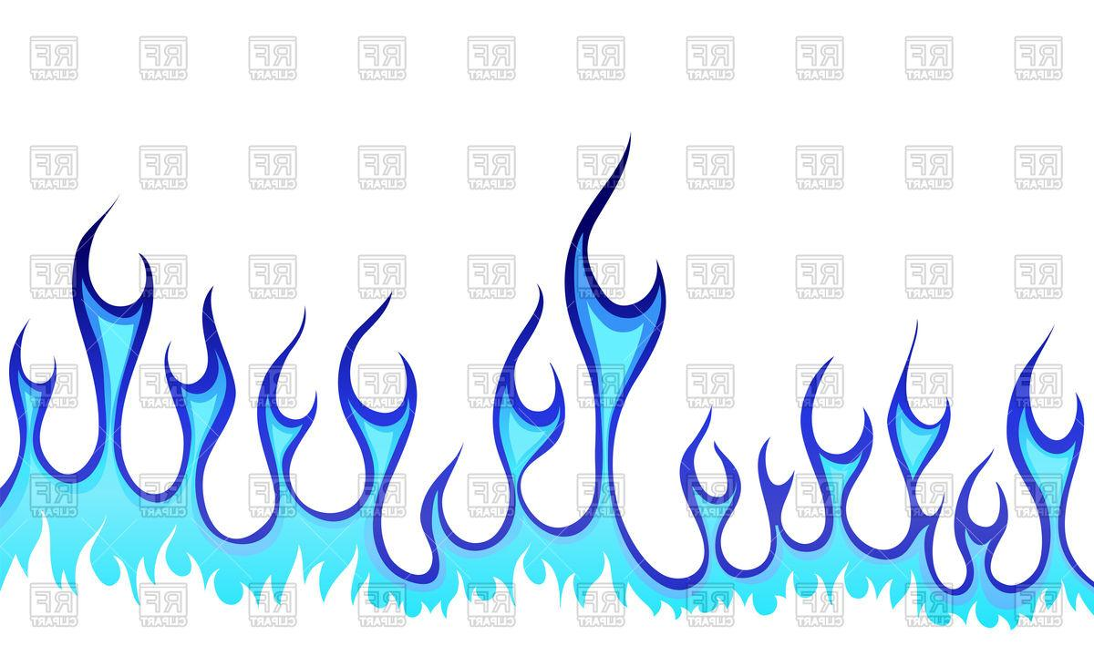 1200x720 Unique Blue Fire Border Download Royalty Free Vector File Eps Pictures