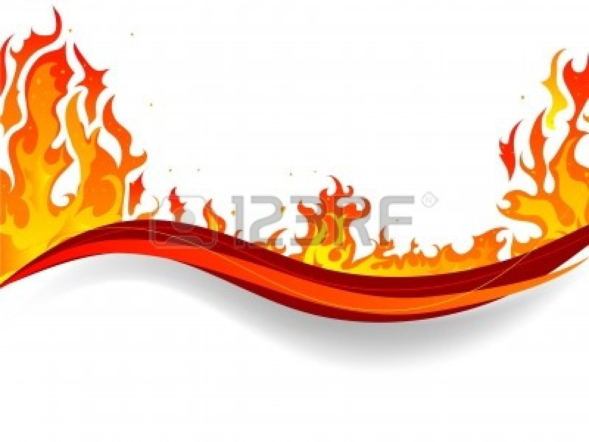 1200x900 Fire Clipart Boarder