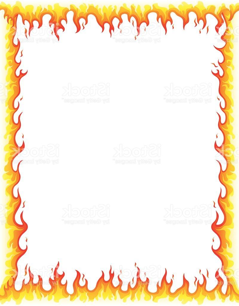 800x1024 Top 10 Fire Border Vector Cdr