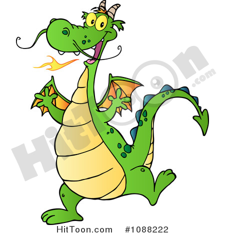 450x470 Dragon Clipart