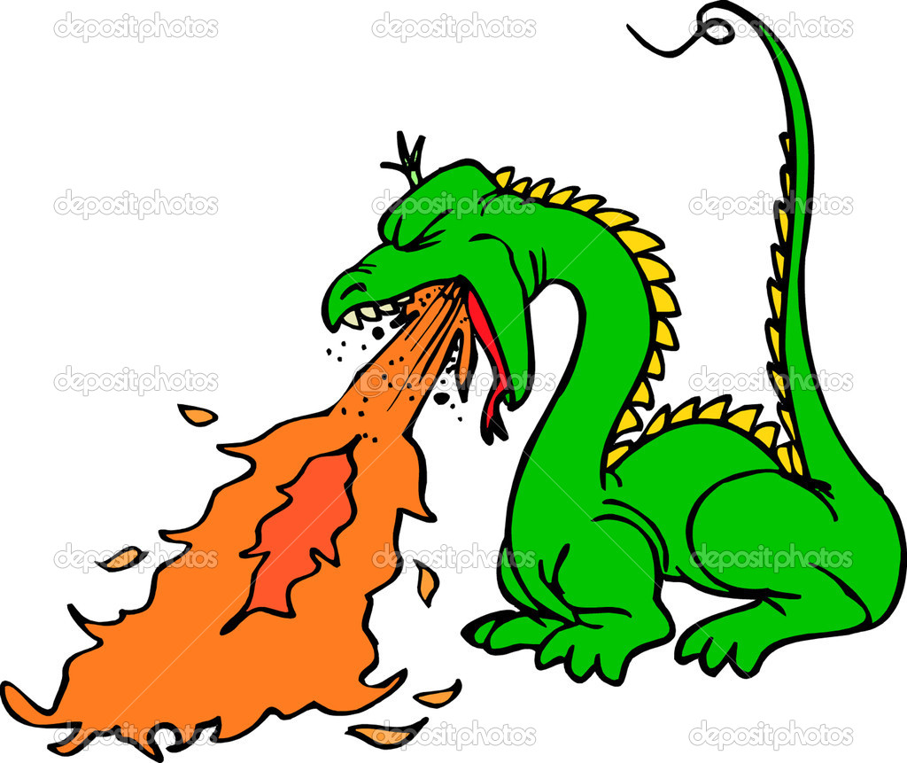 1024x861 Dragon Clipart Fire Breathing Dragon