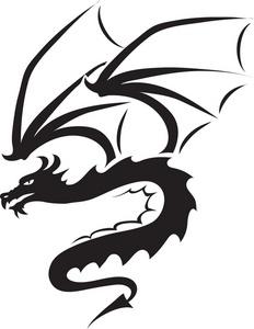 232x300 Free Free Dragon Clip Art Image 0071 0907 1819 1158 Animal Clipart