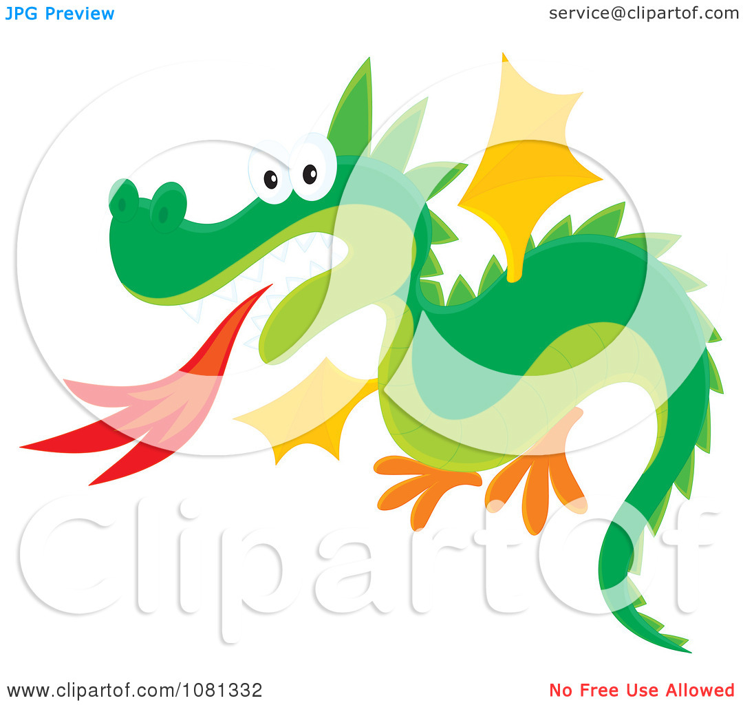 1080x1024 Free Fire Breathing Dragon Clipart
