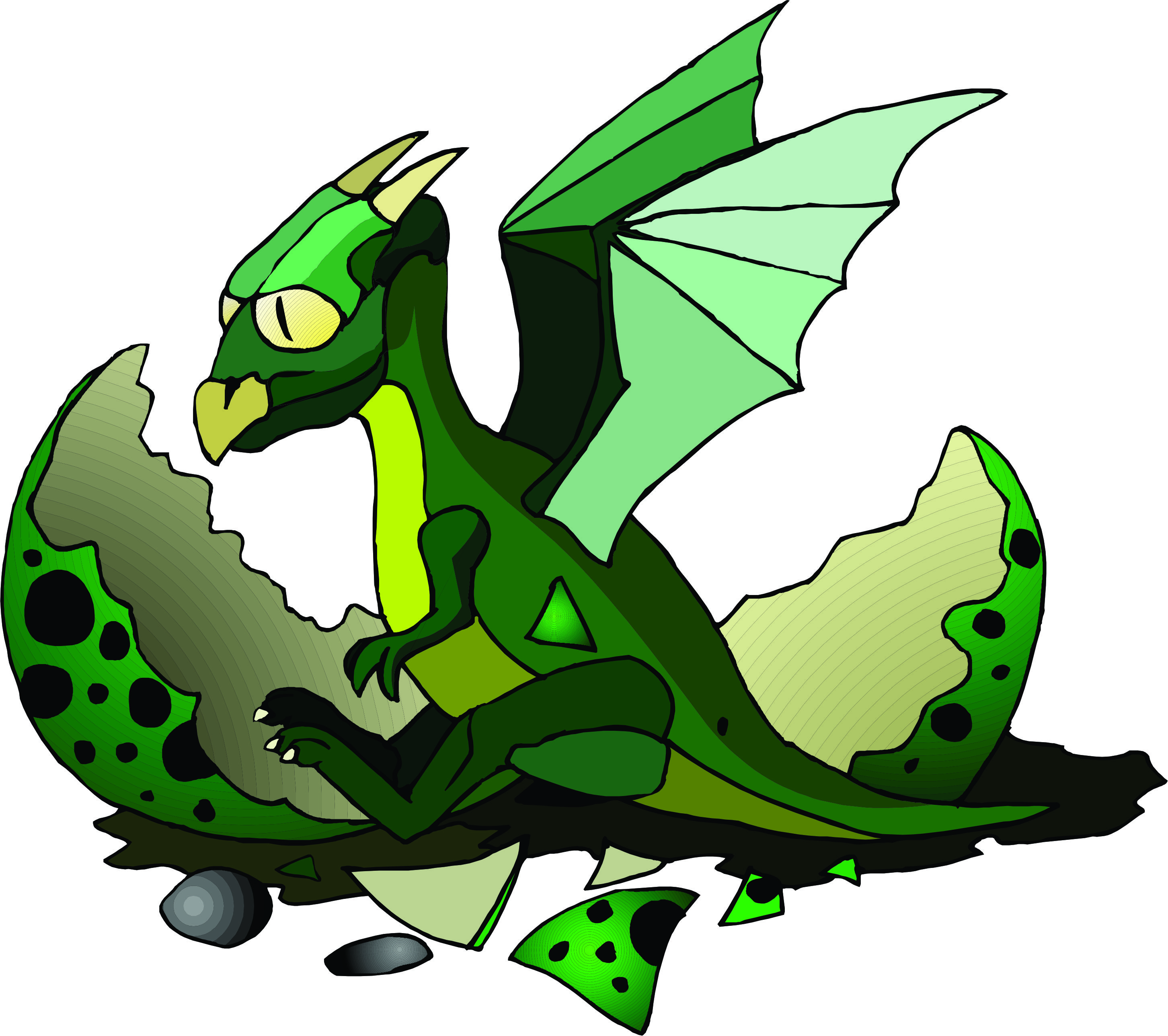 2905x2577 Dead Dragon Clipart