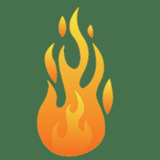 512x512 Fire Cartoon Flame Illustration
