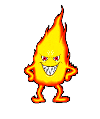 336x400 Fire Cartoon Image Pictures Of Cartoon Fire Clipart