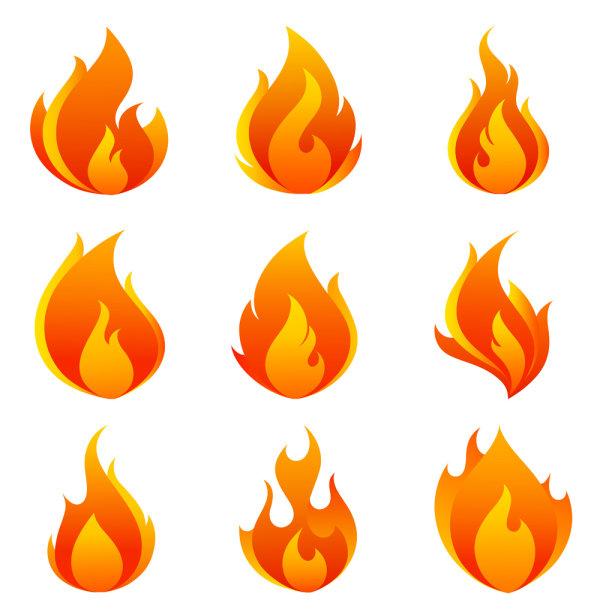 600x609 Cartoon Fire Flames Illustration Pyro