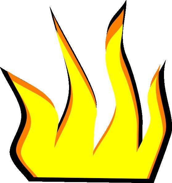 558x596 Cartoon Fire Clip Art
