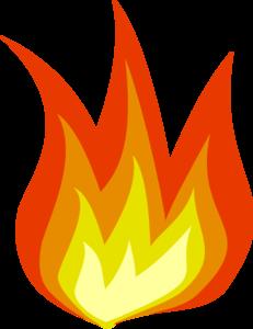 231x300 Fire Big Clip Art