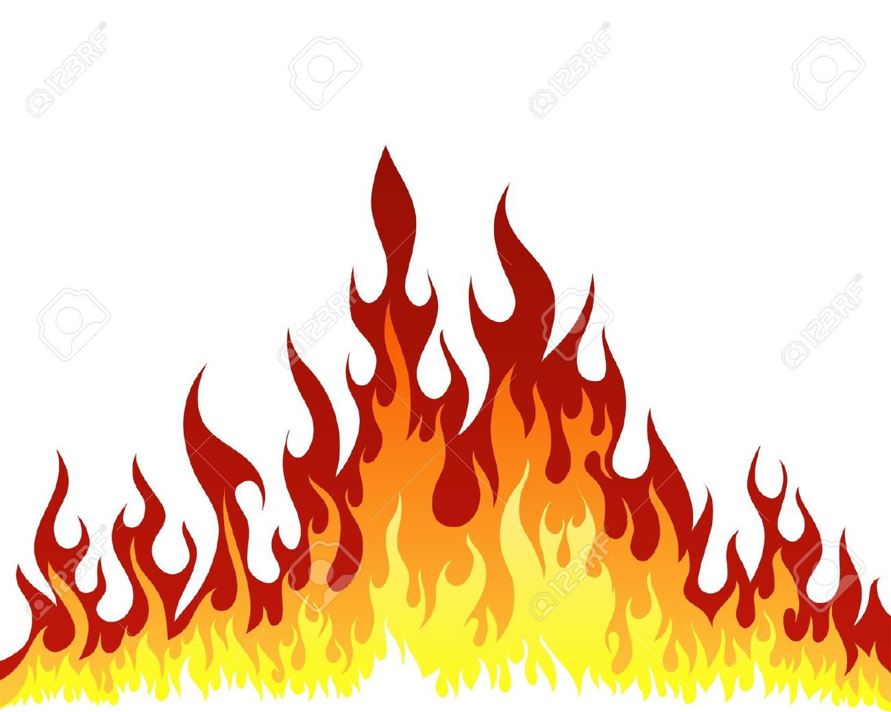 1300x1039 Flames Clip Art Free Free Clipart Images