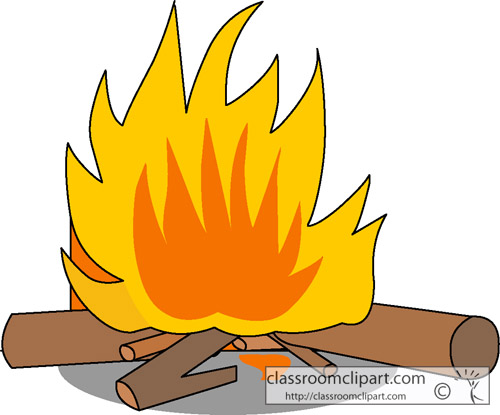500x415 Clip Art Fire Logs Danaalcf Top 2