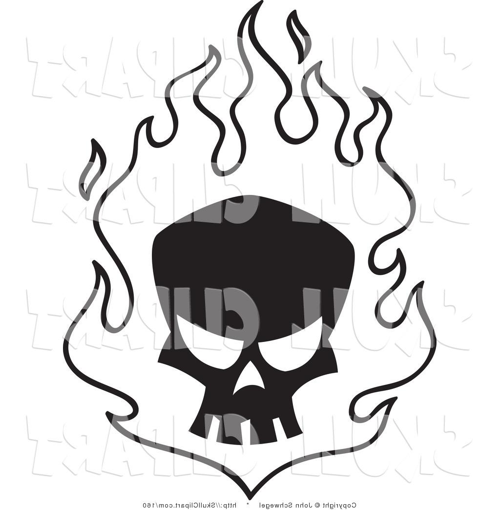 1024x1044 Best 15 Fire Skull Drawing Clip Art Free Images