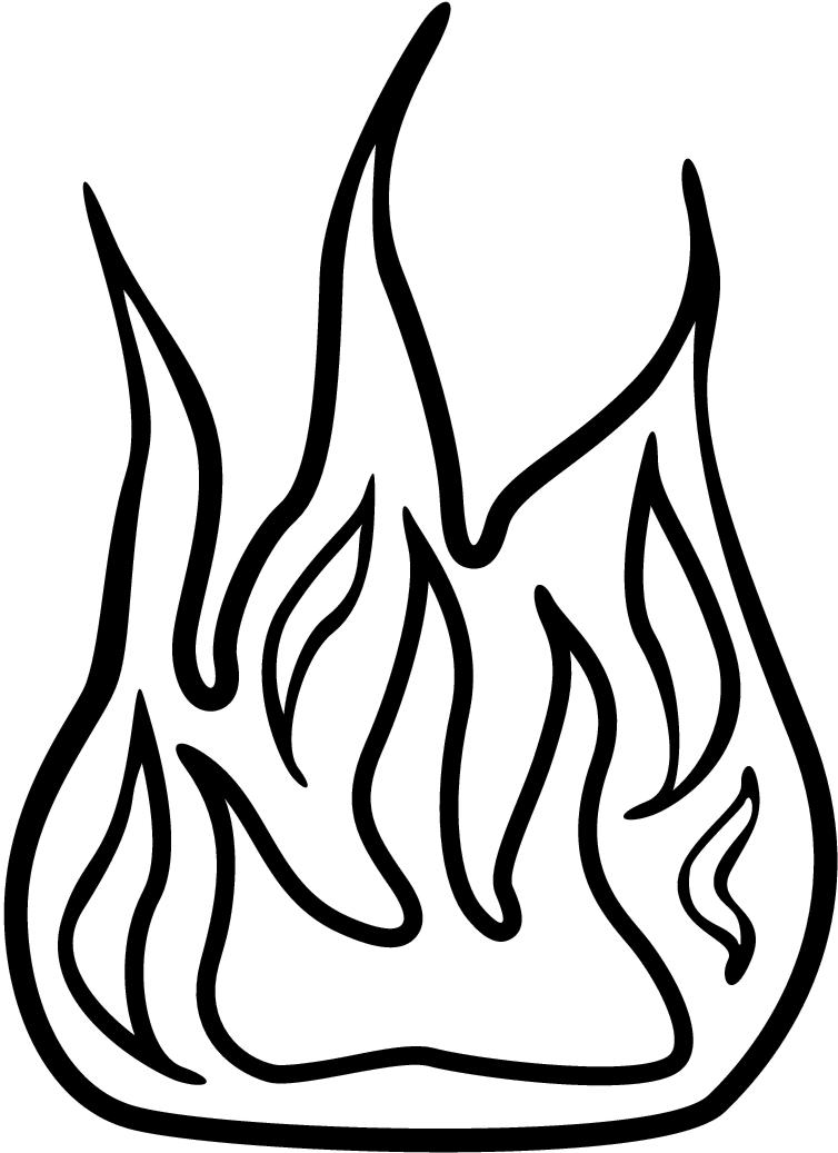 754x1037 And White Flame Clipart